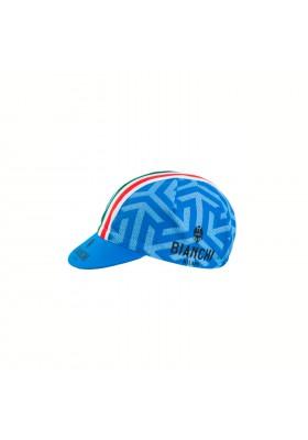 Bianchi Neon Blue Ice Messenger Cycling Cap